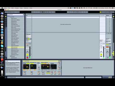 Reverb tutorial in Ableton