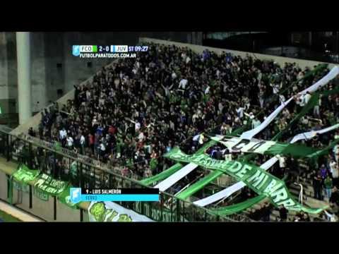 Gol de Salmerón. Ferro 2 – Juventud 0. Fecha 31. Primera B Nacional 2015. FPT.