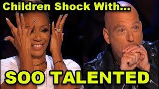 Video 10 *MOST TALENTED KIDS* Auditions Ever on America's Got Talent! MP3, 3GP, MP4, WEBM, AVI, FLV Mei 2018