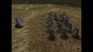 Karsh against Uruk-hai in Lord of The Rings: The Battle for Middle Earth II- The Rise of the Witch-King- Edain Mod.