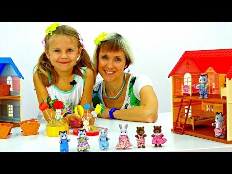 Village story - Детский сад - Сажаем фрукты (видео)