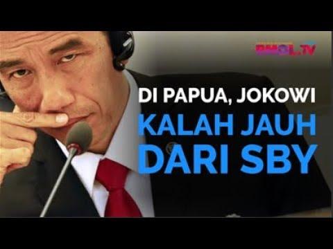 Di Papua, Jokowi Kalah Jauh Dari SBY