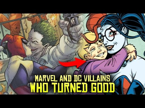 10 Marvel & DC Villains Who Turned GOOD! (видео)