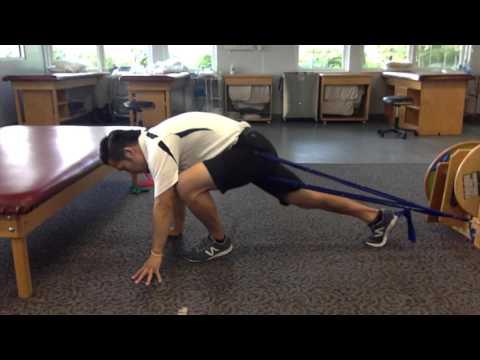 股関節の可動性を高めるチューブエクササイズ
