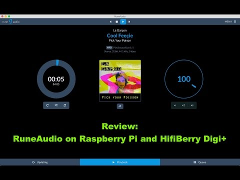 RuneAudio on Raspberry Pi and HifiBerry Digi+ PART 1