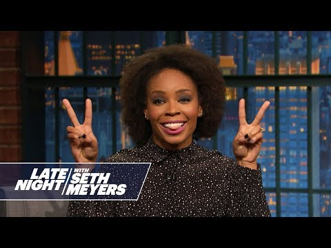Amber Ruffin Apologizes to Seth like a Sexual Harasser