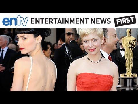 OSCARS 2012 BEST DRESSED: Michelle Williams, Rooney Mara and Emma Stone Red Carpet Fashion: ENTV