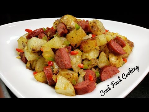 Breakfast Potatoes  - How to Make the Best Sausage Breakfast Potatoes