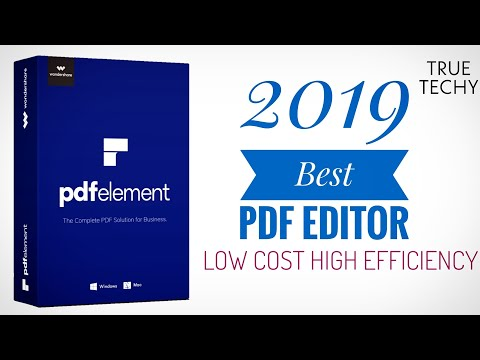 PDFelement Create,Edit PDF Like PRO , PDFelement Review , Professional PDF Editor At Lowest Price