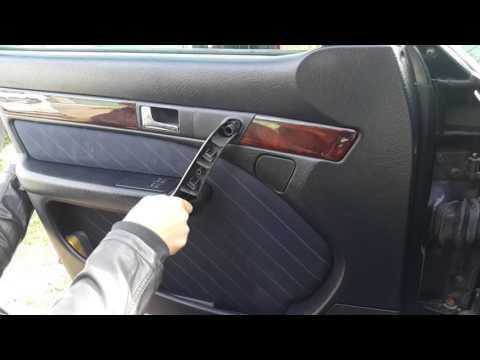 Как снять обшивку водительской двери ауди 100 с4 снимок
