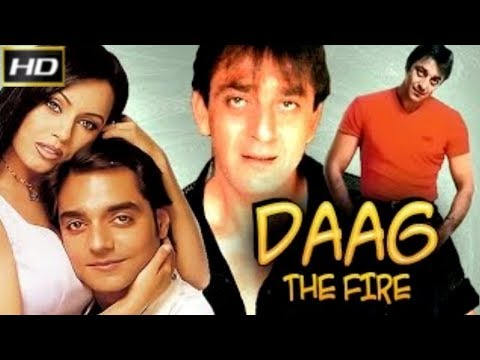 Daag The Fire 1999 - Action Movie | Sanjay Dutt, Chandrachur Singh, Raj Babbar, Deepak Shirke.