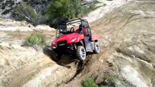 4. Honda Big Red climbing steep hill @ Cleghorn
