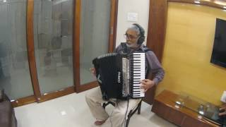 Video Aaja Sanam Madhur Chandni me hum Instrumental on Roland V Accordion FR-8X download in MP3, 3GP, MP4, WEBM, AVI, FLV January 2017