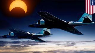 NASA MENGIRIM PESAWAT JET UNTUK MENYELIDIKI GERHANA NASA mengirim jet untuk dapat melihat dari jarak yang lebih dekat ketika gerhana muncul ...