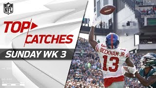 Top Catches from Sunday | NFL Week 3 Highlights by NFL