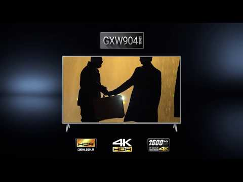 Panasonic 4K UHD TV: GXW904-Serie Als Elegante Innovation