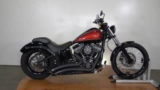 6. 2011 Harley Davidson Softail Blackline