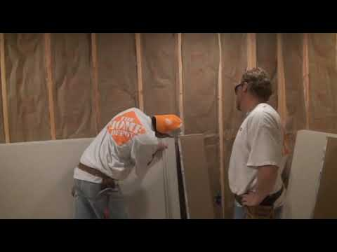 how to fasten sheetrock