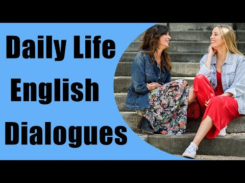 Daily Life English Dialogues with Subtitles -  English speaking Course