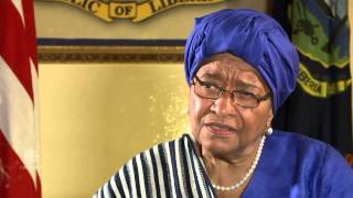 Liberia President Ellen Johnson Sirleaf angered that man carried Ebola to U.S..