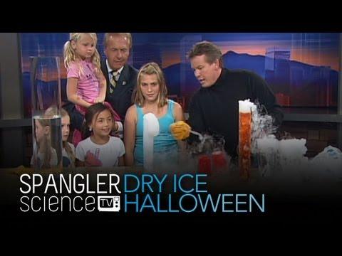 Dry Ice Halloween Wissenschaft - Cool Science Experiment