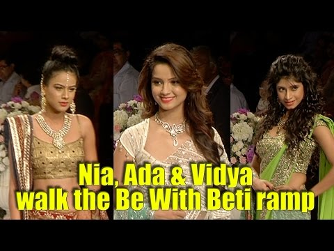 Nia Sharma, Adaa Khan & Vidya Tiwari walk the Be W