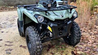 5. 2018 Can-am Outlander 450