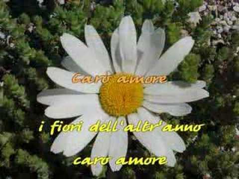 , title : 'Sing-along karaoke - Caro amore - Fabrizio De André'