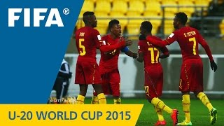 New Zealand 2015: A battle of the youth giants did not disappoint as the Ghanaians and Argentines split five goals. More U-20 World Cup highlights: http://ww...