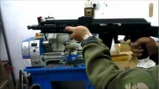Hephaestus Custom Tactical AK GBB Rifle