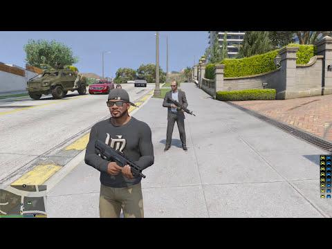 GTA 5 Mod - Biệt Đội Lính Đánh Thuê Tấn Công Nhà Trắng Trong GTA V =)) - Thời lượng: 35:50.