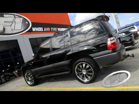 2006 Toyota Land Cruiser 100 series 22 inch custom rims G2 180 Wheels