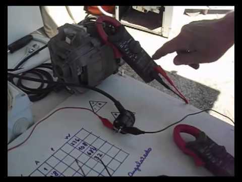 Reducción de velocidad de motor de lavadora de escobillas, con un dimer comercial