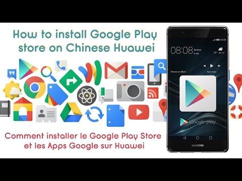 How to install Google Play Store on Huawei Chinise_Hálózati eszköz videók rendszergazdáknak
