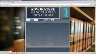 Advokatske Kancelarije YouTube video
