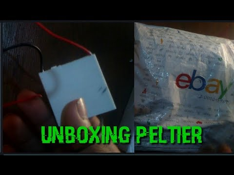 [Hindi] Device That Converts Heat Into Electrical Energy | Unboxing Peltier Module