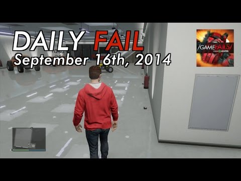 fail - Michael and Lindsay bring you the daily fail for September 16th. For more Game Fails visit http://www.youtube.com/gamefails Got something funnier? Submit your clips now at http://ahuploads.com...