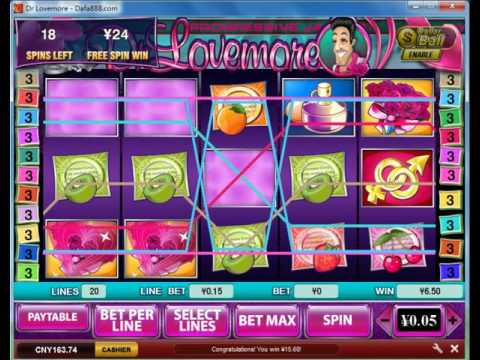 Dr Love More Big Win - playtech bonus slot game
