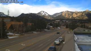2014-03-03 - Estes Park Village Square North Time-Lapse