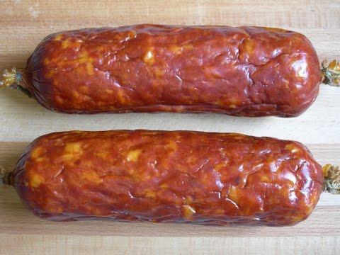 Как сделать копченую колбасу из свинины