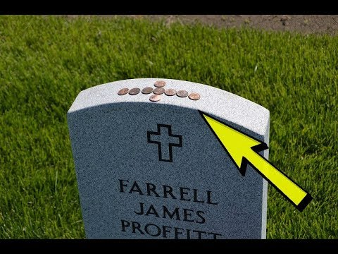 If You Ever See A Quarter Resting On Top Of A Grave Stone, Don't Touch It!