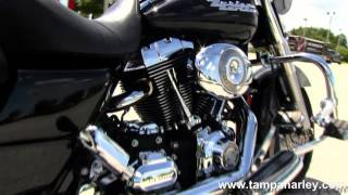 8. Used 2007 Harley-Davidson FLHRS Road King Custom Motorcycle for Sale Florida USA