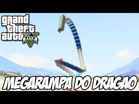 GTA V - MEGARAMPA DO DRAGÃO