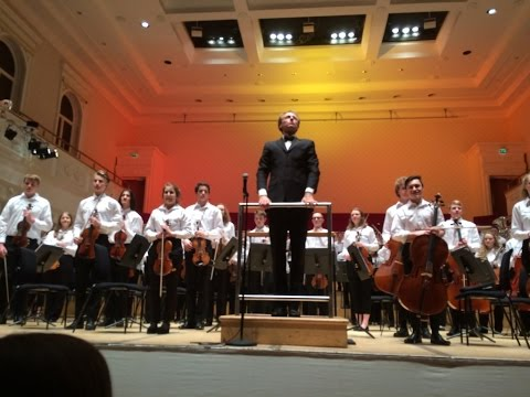 NYOS Senior Orchestra at Glasgow's City Halls, April 2017