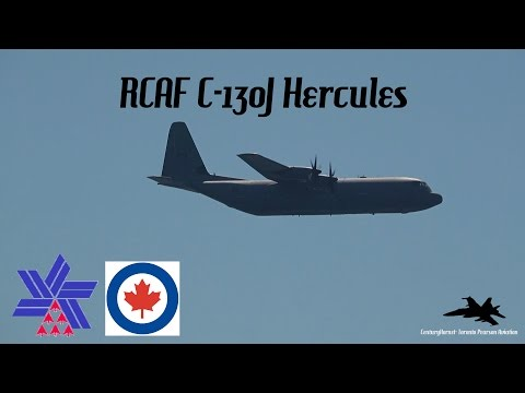 RCAF C-130J Hercules 2016 Canadian...