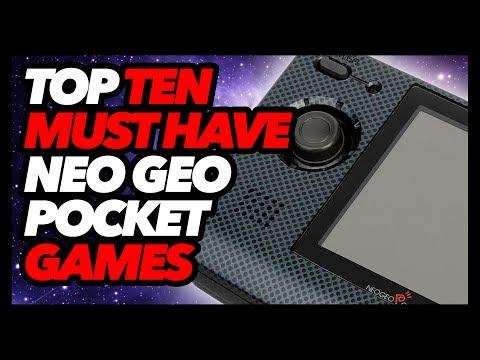Top Ten Must Have Neo Geo Pocket Color Games