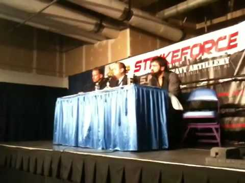 Andrei Arloski and Jesse Finney Strikeforce St Louis Post Press Conference
