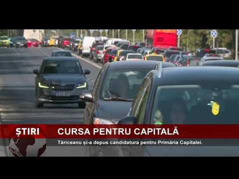 Călin Popescu Tăriceanu și-a depus candidatura pentru Primăria Capitalei