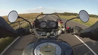 7. S4 - DUCATI MONSTER - Riders view + exhaust sound - inc -  SPEC INFO