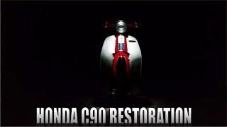 Video The Grand Finale! -Part 6 ( Honda C90 FULL RESTORATION ) MP3, 3GP, MP4, WEBM, AVI, FLV Januari 2019
